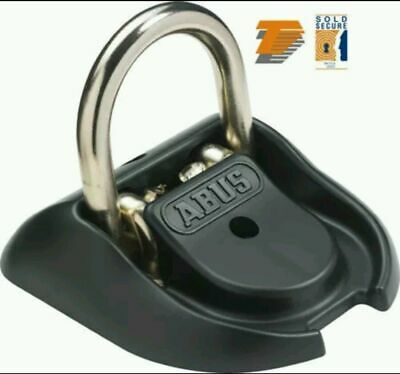 Abus Wba 100 Motorcycle Thatcham Granit High Security Ground / Wall Anchor Kit • 83.36£