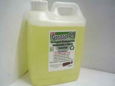 Grease Off Concentrated DEGREASER Cleaner Biodegradable Engine Chain Gear Oil 2L • 10.99£