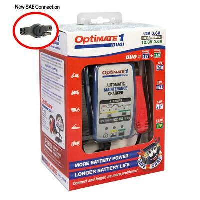 OptiMate 1 Duo Battery Charger For Lead Acid Gel And Lithium Batteries  • 36.38£