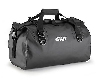 GIVI EA115BK WATERPROOF Luggage DRY BAG 40 Litre Touring TAIL BAG For MOTORCYCLE • 54.87£