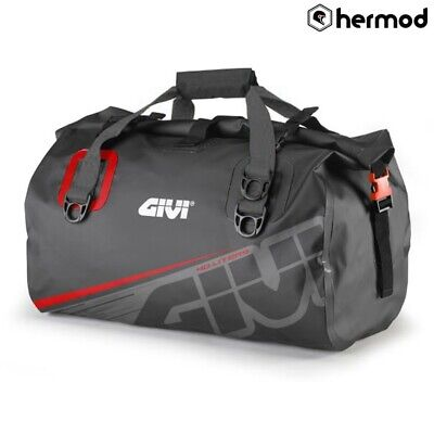 Givi EA115GR Waterproof Motorbike Motorcycle Dry Roll Tail Bag - Grey • 61£