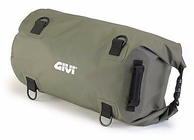 GIVI EA114KG WATERPROOF Luggage DRY BAG 30 L Cylindrical HOLDALL Seat TAIL BAG • 36.87£