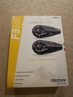 Motorbike Interphone Intercom F3MC • 17.10£
