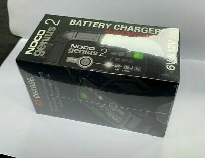 NOCO Genius 2 Battery Charger GENIUS2UK 6V/12V 2A *NEW IN STOCK 2020* • 46.90£