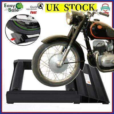 400 KG Heavy Duty Motorcycle Bikes Tyre Wheel Spinner Chain Cleaner Roller Stand • 18.98£