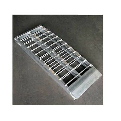 Moto Professional Extra Wide Motorcycle Pad Access Ramp Aluminum Ramp 600Kg • 177.19£