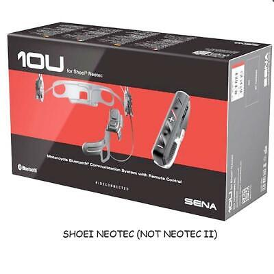 Sena 10U Shoei Neotec Blutooth 4.1 With RC4 Remote - NEW MODEL • 210£