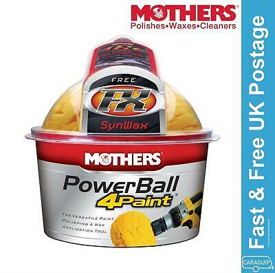 Mothers Powerball 4Paint Vehicle Polishing Tool • 9.99£