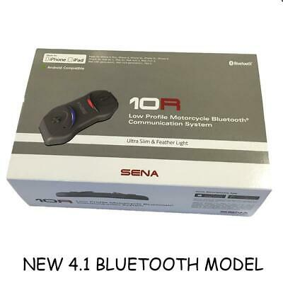 SENA 10R Motorcycle Bluetooth Headset & Intercom - FREE FITTING IF COLLECTED • 178.99£