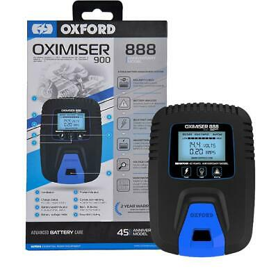 Oxford Oximiser 900 Motorcycle 888 Anniversary Battery Charger - FREE POST • 27.45£