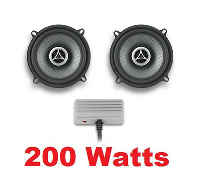 Cycle Sounds 200 Watt AMP With 5 1/4  Speakers 4 Ohm W/ Mini Amplifier Harley  • 187.33£