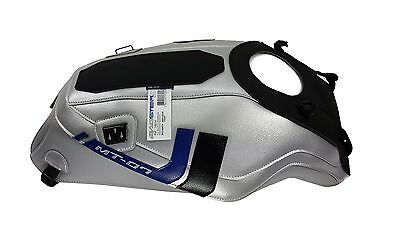BAGSTER TANK COVER Yamaha MT-07 2016 Silver Race Blu PROTECTOR MT07 1681K Moto • 129.87£