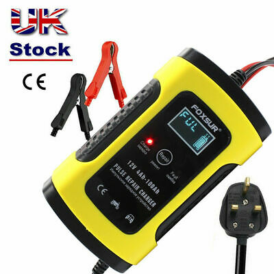 Automatic Intelligent 12V Motorcycle Motorbike Battery Charger Smart Trickle UK  • 12.28£