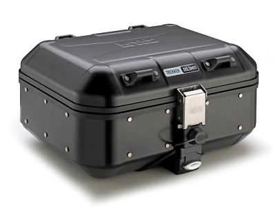 GIVI TREKKER DOLOMITI DLM30B TOP BOX CASE Black Line Fits Any MONOKEY Plate 30L • 239.87£