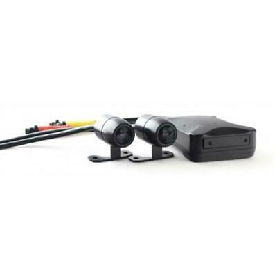 Motorcycle Front & Rear Camera Kit Fitted With Sony Sensors  1080p • 149£
