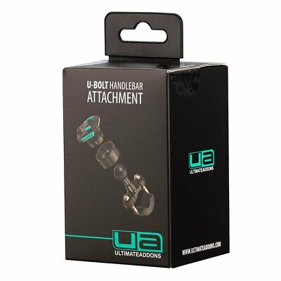 Ultimateaddons Motorcycle U-bolt Handlebar Mount With 3 Prong Attachment • 30£
