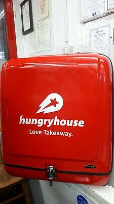 Hungry House MOTORBIKE Delivery Box XLARGE WATER PROOF, WIND PROOF • 350£