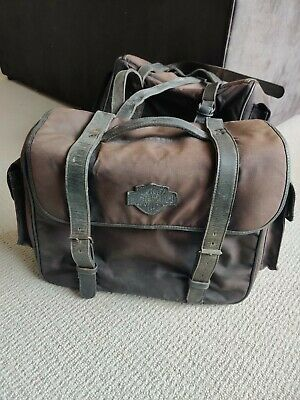 Harley Davidson Throw Over Canvas And Leather Panniers Genuine  • 150£