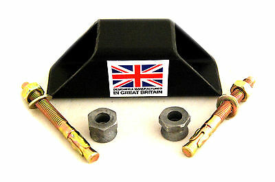Bolt Down Ground Or Wall Anchor Motorbikes Motorcyle Bicycles Quads ATV Security • 11.95£