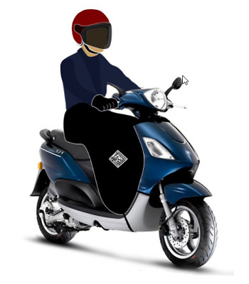 Tucano Urbano Termoscud - R151 - Leg Cover For Piaggio Fly & Zip Moped/scooter • 109.99£