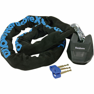 Oxford Hardcore XL 13 Motorcycle Chain Lock & Padlock 13mmx1.5m Thatcham LK161 • 55.99£