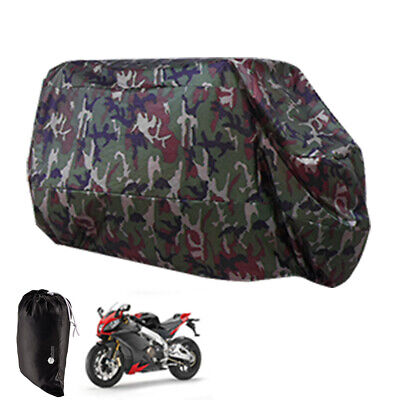 Motorcycle Waterproof XL Outdoor MotorBike Scooter Dust Rain Cover Extra Large • 11.99£