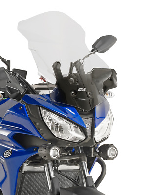 GIVI SCREEN For YAMAHA MT-07 TRACER 2016 > 2017 Smoked 12cm Higher Than Original • 49.65£