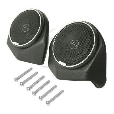 King Tour Pak Rear 6.5  Speaker Pods For Harley Touring Models 2014-2020 18 19 • 89.92£