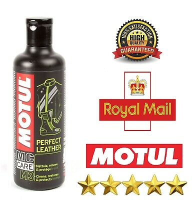 Motul MC Care M3 Perfect Leather Care Motorcycle Jacket Boots Trousers - 250ml • 8.93£