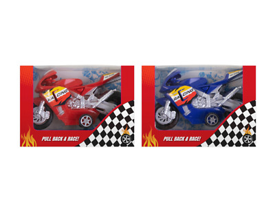 Friction Motorcycle - Different Colours / Designs! • 5.39£