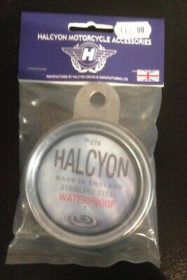Licence / Tax Disc Holder Stainless Steel By Halcyon • 24.99£