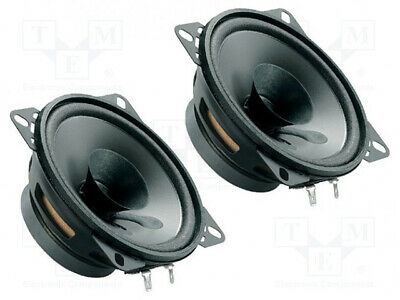 Car Loudspeakers 100mm 40W 90÷13000Hz 2 Loudspeakers 4Ohm 37mm[1 Set] • 20.46£