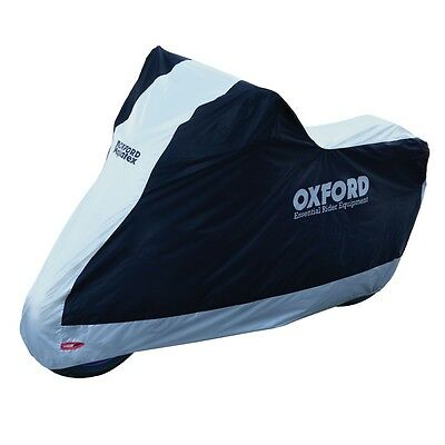 Oxford Bike Motorcycle Aquatex Rain Dust Cover Size Large Outdoor Indoor Cv204 • 18.99£
