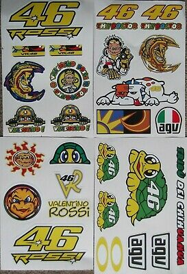 The Doctor - VALENTINO ROSSI -  27 Large Waterproof Stickers   • 4.99£