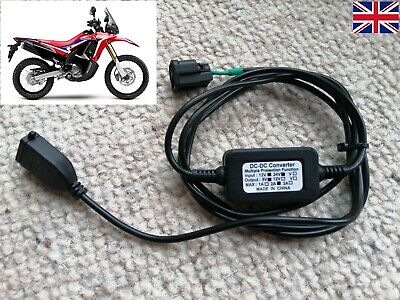 Honda CRF250/300 Rally Accessory Socket Plug, With USB Outlet For Phones, Etc.* • 19£