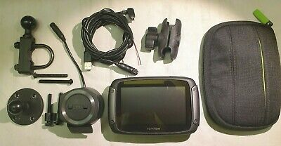 Tomtom Rider 550 (Lifetime EU Mapping, Fitting Kit And Carry Case) • 225£