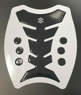 Carbon Premium Tank Pad/Protector For Suzuki Motorcycles -Bandit GSF GSXR & More • 9.49£
