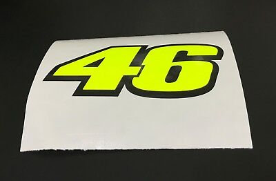 Valentino Rossi 46 Decal Sticker  Decal  X 3  • 3.50£