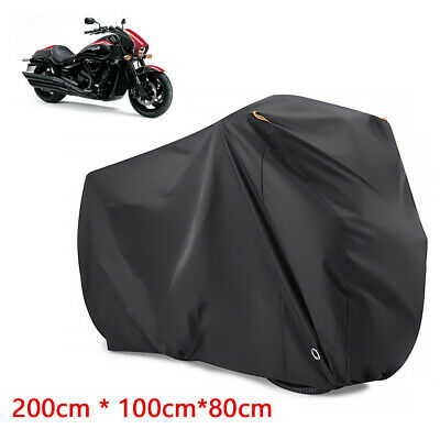 XL Heavy Duty Waterproof Motorcycle Cover Dustproof Motorbike Shelter UK • 9.89£
