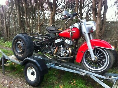 Trike Motorcycle Trailer • 350£