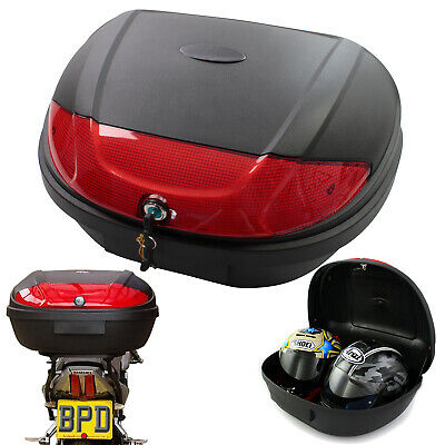 Motorcycle Scooter Top Box Delivery / Courier / Takeaway Extra Large 52l Box • 39.99£