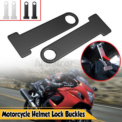 CNC Motorcycle Open Face Helmet Lock Device For Quick Release Buckle  • 3.79£