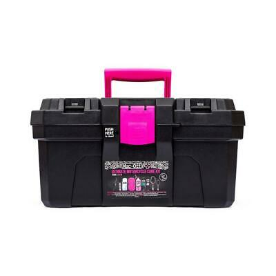 Muc-Off Ultimate Motorcycle Cleaning Kit Lubricant Spray Cloth Sponge Brush • 69.99£