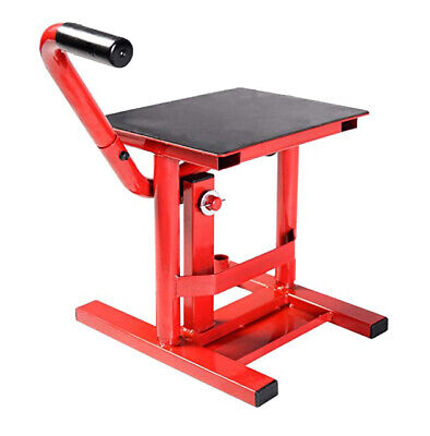 New Heavy Duty Motorcycle Moto-x Mx Motocross Steel Foot Lift Stand Red • 34.95£