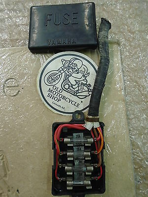 Yamaha XJ550 Replacement Fusebox Panel & Cover OEM • 31.76£