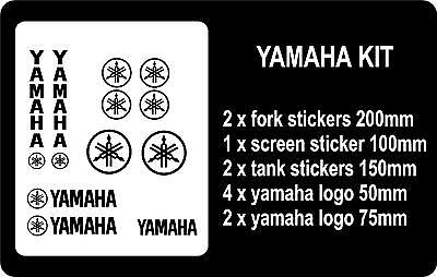 Yamaha Vinyl Sticker Set ANY COLOUR • 2.99£