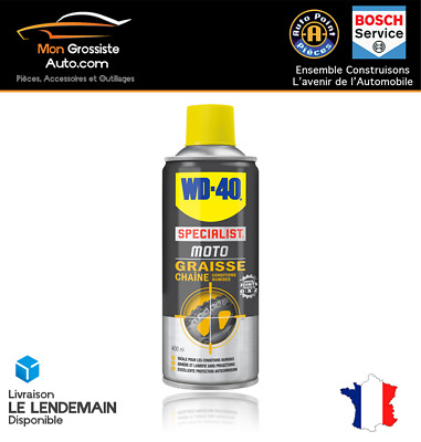 WD40 Specialist Motorbike Grease Chain Motorbike Wet Conditions 400 ML • 21.22£