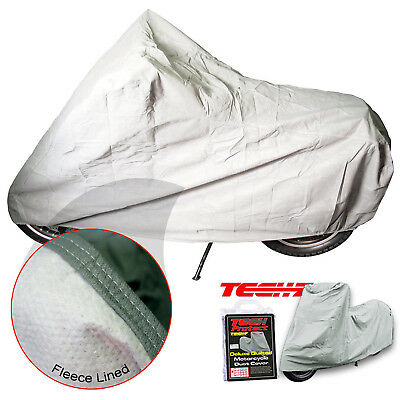 Tech7 Deluxe Indoor Breathable Motorcycle Bike Dust Cover Large 229x99x124cm • 15.99£