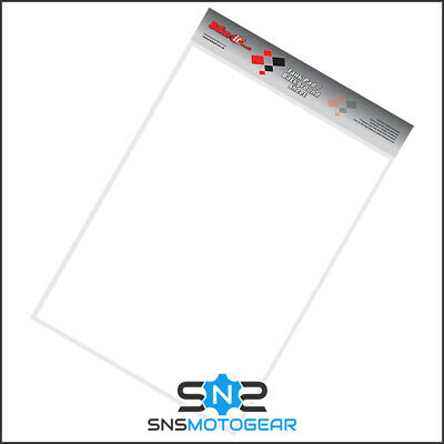 Motorcycle Motorbike Petrol Tank Cut Your Own Protector Sheet 45x33cm - Clear • 12.99£