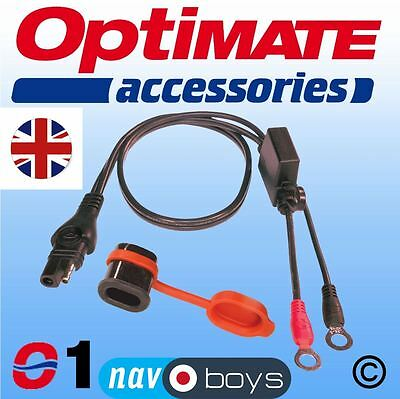 Optimate O-1 SAE Weatherproof Eyelet Lead Fast Delivery • 7.99£